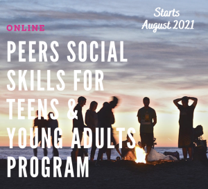PEERS Social Skills for Teens or Young Adults Program